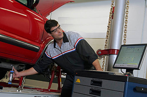 Willmar Auto Service Center features skilled technicians and state of the art equipment